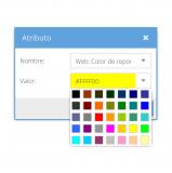 Cambiar color de la línea de ruta: